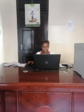Judith Pili- The Operations Coordinator Mombasa.